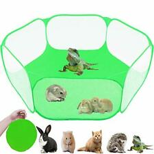 Small Animals Tent, Reptiles Cage, Breathable Transparent Pet Playpen Pop