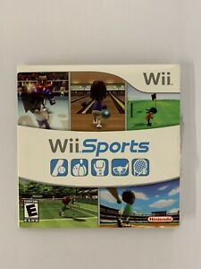 Wii Sports (Wii, 2006) Complete, Tested Working, Sleeve & Manual