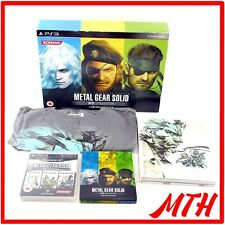 Metal Gear Solid HD Collection Limited Edition Big Box Playstation 3 PS3