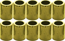 "Brass Ferrule for Air & Water Hoses #7323 1/4"" Id/.525 Id/1.000 L/.375 P 10 Pack"