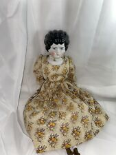 Vintage Hertwig Doll. Low Brow China Head 20�. Beautiful!
