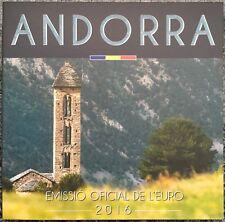 KMS Kursmünzensatz Andorra 2016 BU 1 Cent bis 2 Euro im Blister - nur 35.000 Stk