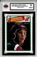 1988-89 O-Pee-Chee #122 Brendan Shanahan RC Graded 9.0 Mint (052619-96)