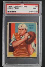 Jimmie Foxx HOF 1935 Diamond Stars #64 Graded Card PSA NM 7