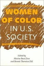 Women in the Political Economy: Women of Color in U. S. Society (1993,...