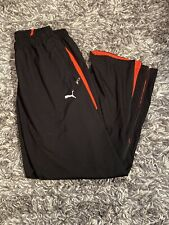 PUMA Joggers LARGE Black And Red