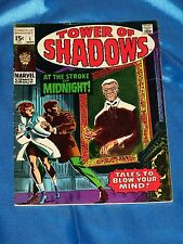 TOWER OF SHADOWS # 1, Sept. 1969, Classic STERANKO story, Romita Cover, FINE