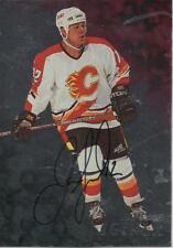 1998-99  BE A PLAYER - JAROME IGINLA AUTOGRAPHED CARD