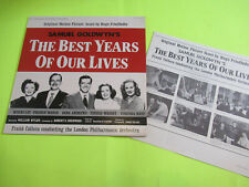 Samuel Goldwyn'S The Best Years Of Our Lives Soundtrack Ost Lp Ex