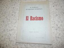 1946.El racismo.Isaac Riano Diez
