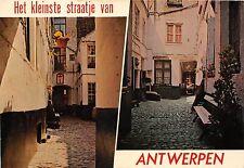 BG5333 la plus petite rue d   antwerpen anvers  belgium