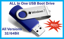 Windows 7 Bootable USB All In One (AIO) 32&64 bit Installation and Repair