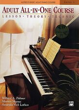 Alfred's Basic Piano Library - Adult All-In-One Course: Level One (Book & CD)