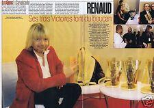Coupure de presse Clipping 2003 Renaud Sechan  (2 pages)