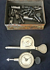 Antique and Vintage Lot Ls Starrett and Other Speed Indicator Rpm Dial Gauges