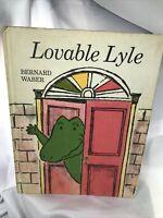 Vintage Lovable Lyle Weekly Reader 1969 Children's Book Hardcover