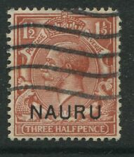 Nauru KGV 1923 1 1/2d red brown used