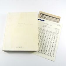 Sotheby's Auction Catalog The Estate of Jacqueline Kennedy Onassis April 23 - 26