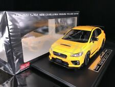 Diecast Car Model Sun Star Subaru S207 NBR Challenge Package 1:18 (Yellow)+GIFT!