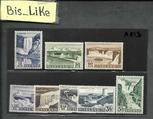 BIS_LIKE:set Iceland MNH LOT AP 03-813