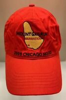 Mount Gay Rum Cap Hat 2009 Chicago Nood Sailing Yacht Club CYC StrapBack Men OS