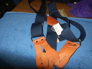 """Carhartt Dungaree Suspenders 2"""" Adjustable Work & Hunter Suspender Belt"""