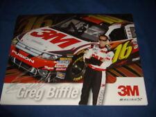 2010 GREG BIFFLE #16 3M NASCAR POSTCARD