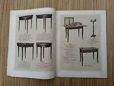 """Catálogo ancien """"el pequeño mueble de arte"""" principios XX . , colección"""