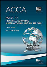Acca: Paper F7: Financial Reporting (International and UK Stream)-ExLibrary