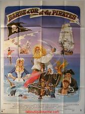 BARBE D'OR ET LES PIRATES Yellowbeard Movie Poster / Affiche Cinéma PETER BOYLE