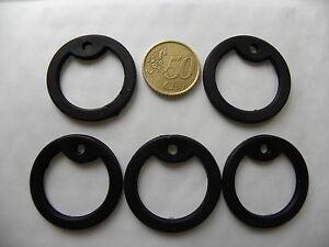 5 x silencieux en caoutchouc pour plaques militaires GI