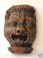 Cathedral Gargoyle Grotesque Gothic Oak Carving Handmade Gift wall plaque tudor