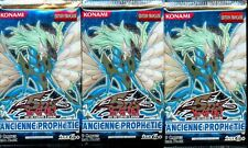 YU GI OH! 3 BOOSTERS ANCIENNES PROPHETIES