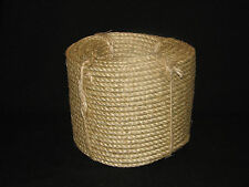 6MM X 100MTR SISAL ROPE EXCELLENT QUALITY AND VALUE,FREE POSTAGE AUSTWIDE