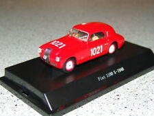 UN FIAT 1100 S MILLE MIGLIA 1021 RED 1:43 STARLINE