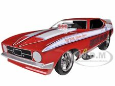 1972 FOSTER'S KING COBRA FORD MUSTANG NHRA FUNNY CAR 1/18 BY AUTOWORLD AW1117