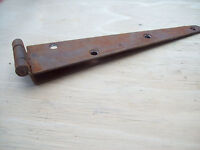 RUSTIC IRON PENNY END PLAIN STRAP HINGES FOR CHEST BLANKET BOX CABINET DRAWER ET