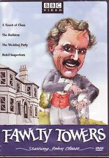 3 DVD SET - FAWLTY TOWERS VOLUMES 1 2 3 - COMPLETE SERIES - John Cleese BBC NEW!