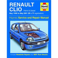 RENAULT CLIO DIESEL 98 - 01 Haynes manuel de réparation et service de r y reg