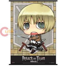 Attack on Titan SD Armin Wall Scroll GE60567 Shingeki no Kyojin Fabric Poster