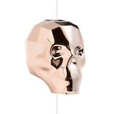 5750 cristal swarovski 13mm crâne perles or rose cristal (D22/1)