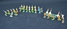 31 Vintage Lead Soldier Painted Roman & other Soldiers