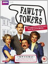 FAWLTY TOWERS COMPLETE COLLECTION REMASTERED BOXSET  REGION 4 DVD 3 DISCS