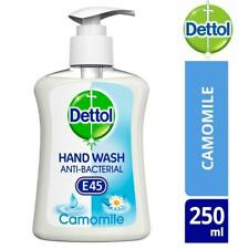 Dettol Antibacterial Liquid Hand Wash Camomile With E45 Softness 250ml
