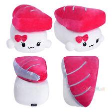 "Decorative Pillow Cotton Food Cute Saba Mackerel Sushi Plush Cushion 11"" Medium"