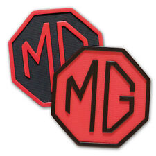 MG rubber drink coasters