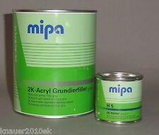 Mipa 2K-Acryl-Grundierfiller grau 10:1 inkl. Härter  (1 kg)
