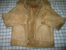 William Barry Mens Shearling Leather vintage jacket size M 40