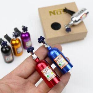 Car NOS Bottle Turbo JDM Air Freshener Clip Decoration  w/Box