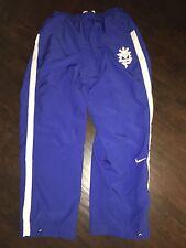 Nike Dri Fit Manny Pacquiao Blue Mesh Lined Pants Boxing Filipino Champion L